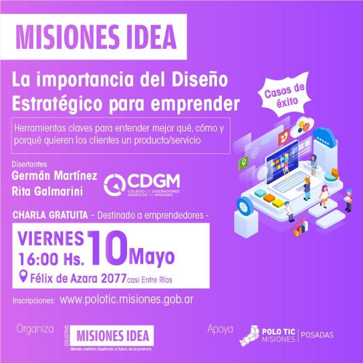 MISIONES IDEA: LA IMPORTANCIA DEL DISEÑO GRÁFICO PARA EMPRENDER