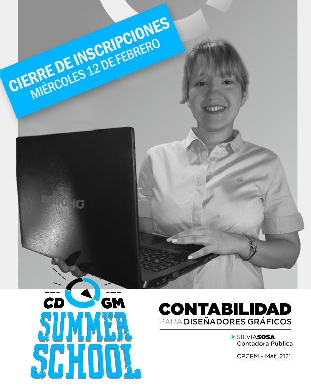 """El Colegio de Diseñadores Gráficos de Misiones te invita a la charla """"Contabilidad para Diseñadores Gráficos"""" a cargo de la Contadora Silvia Sosa."""