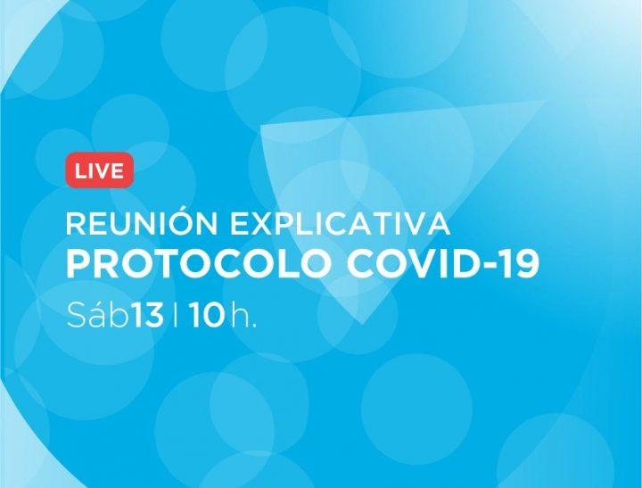 Charla sobre el Protocolo COVID19 del CDGM