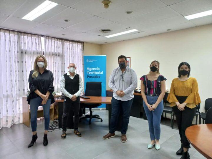Reunión del Colegio de Diseñadores Gráficos de Misiones y la agencia Territorial Posadas del Ministerio de Trabajo de Nación